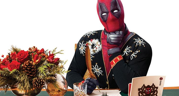 Świąteczna wersja Deadpoola 2 z pierwszym plakatem