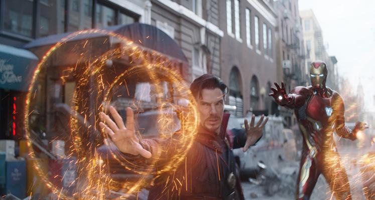 Doktor Strange założył zbroję Iron Mana! Nowe zdjęcie z planu