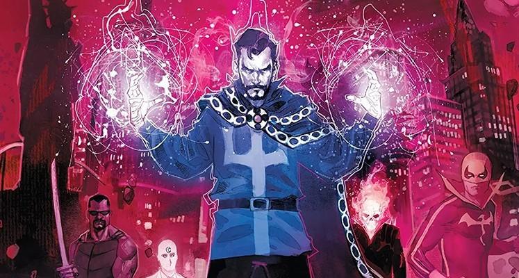 """""""Doktor Strange"""" tom 4 – recenzja komiksu. Diabeł kontra Mroczni Avengers (i nie tylko)"""