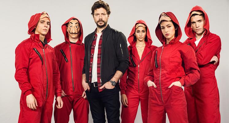 Netflix podpisał umowę na wyłączność z Alexem Piną - twórcą Domu z papieru