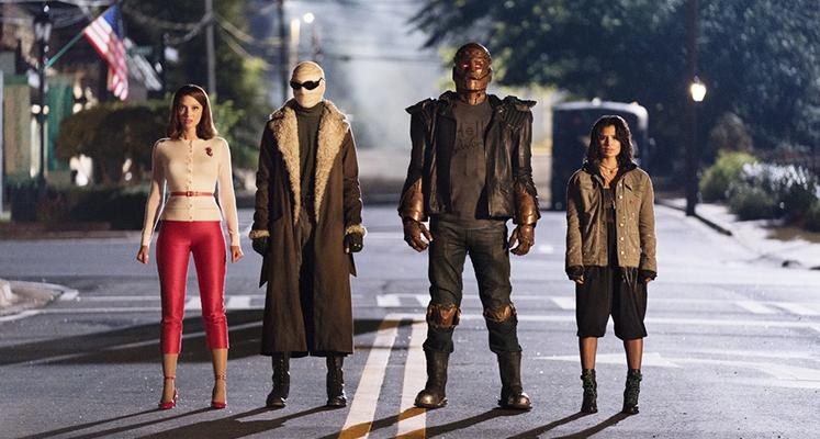 Doom Patrol - bohaterowie serialu na zupełnie nowych zdjęciach