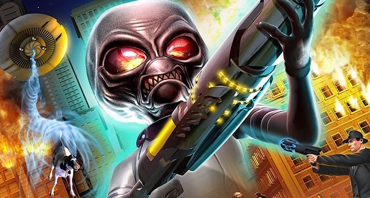 """Kwadrans eksterminowania ludzkości w gameplayu z """"Destroy All Humans!"""""""