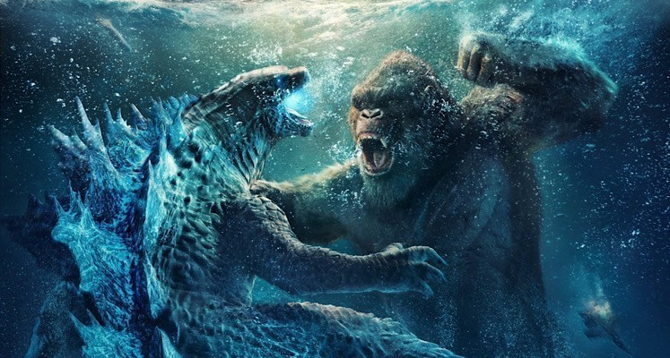 """""""Godzilla kontra Kong"""": posłuchajcie fragmentu ścieżki dźwiękowej z filmu. Nowy plakat IMAX"""