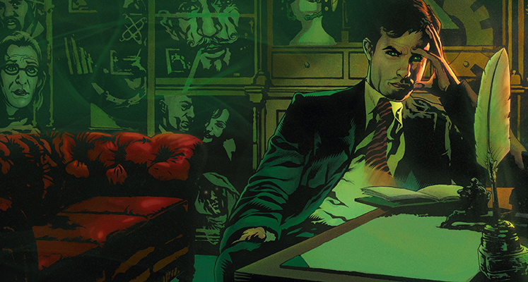 Ex Machina - prezentacja komiksu