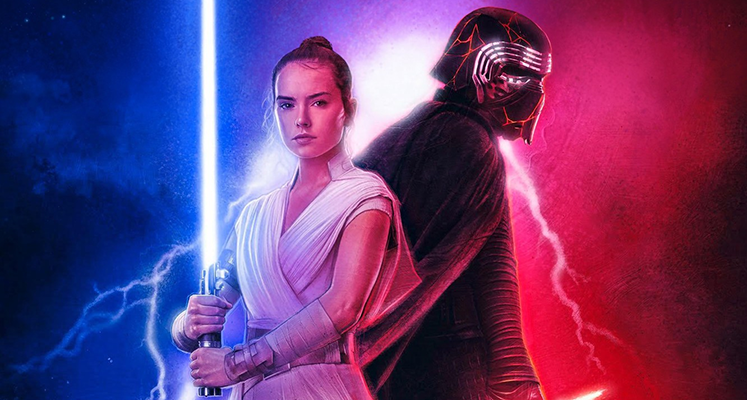 """Kylo Ren trenuje w nowym materiale ze """"Skywalker. Odrodzenie"""""""