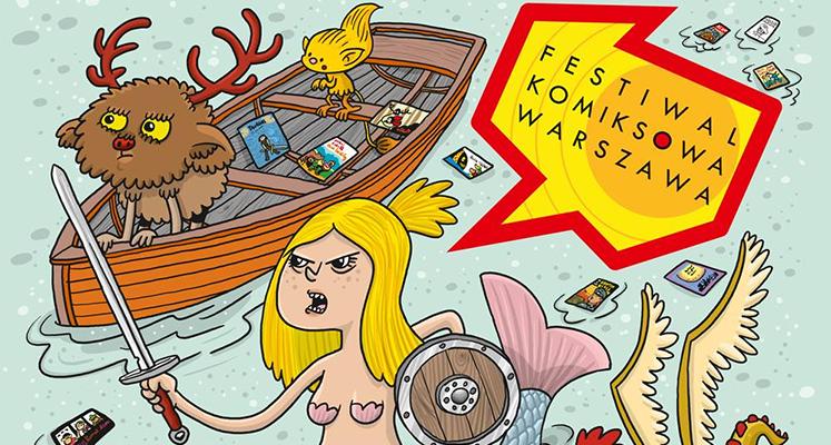 Egmont na Komiksowej Warszawie - rozpiska wydarzeń i spotkań z autorami