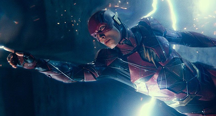 "Ezra Miller na nowym nagraniu z planu filmu ""The Flash"""