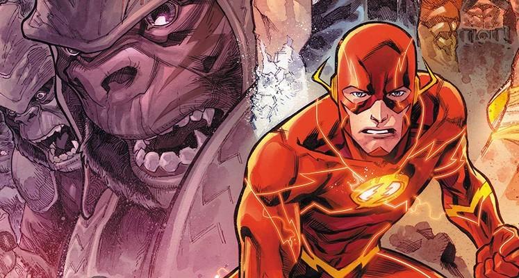 Flash tom 3: Inwazja goryli - prezentacja komiksu