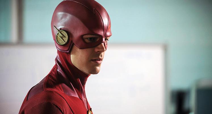Zespół Flasha na plakacie promującym szósty sezon serialu