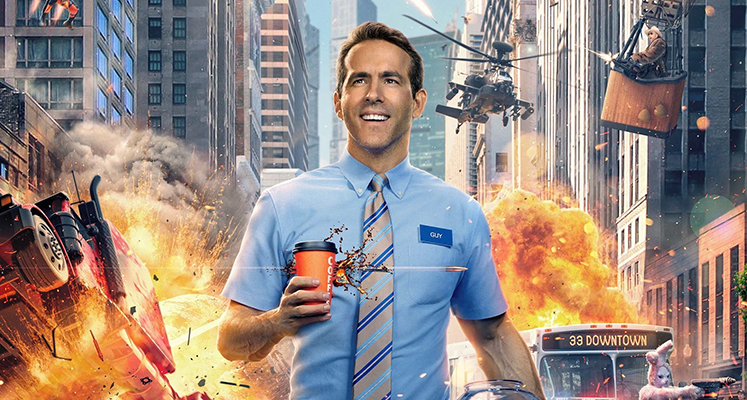 """Ryan Reynolds pokazuje fragment filmu """"Free Guy"""" z okazji przesunięcia premiery"""
