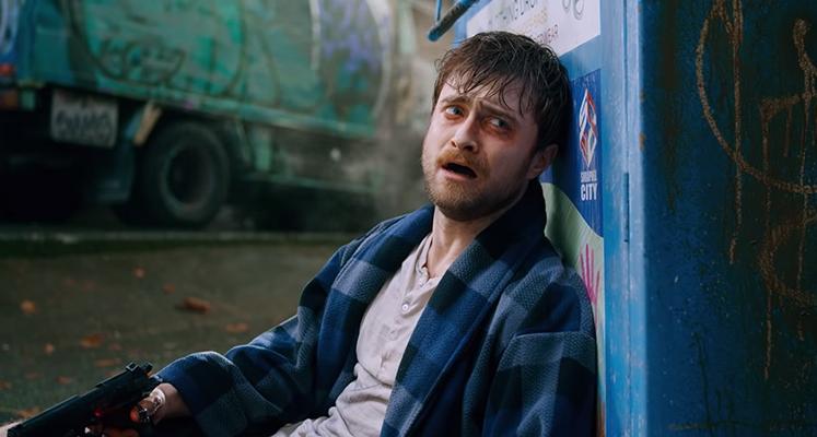 """Daniel Radcliffe w zwariowanym kinie akcji – zwiastun """"Guns Akimbo"""""""