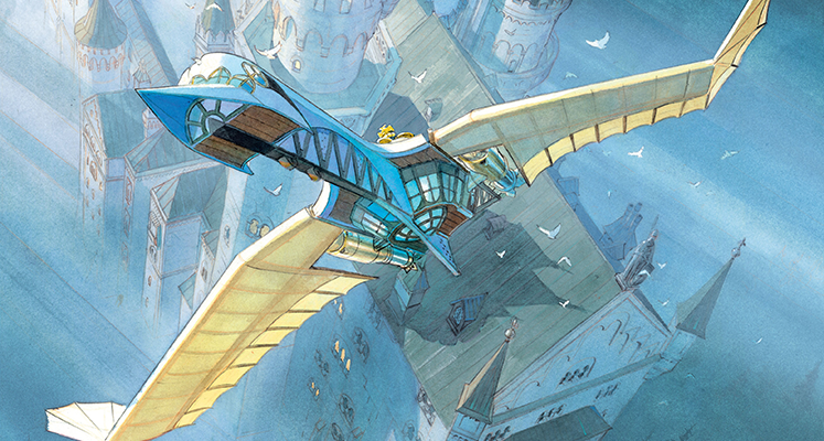 Gwiezdny zamek tom 1: 1869: Podbój kosmosu - recenzja komiksu