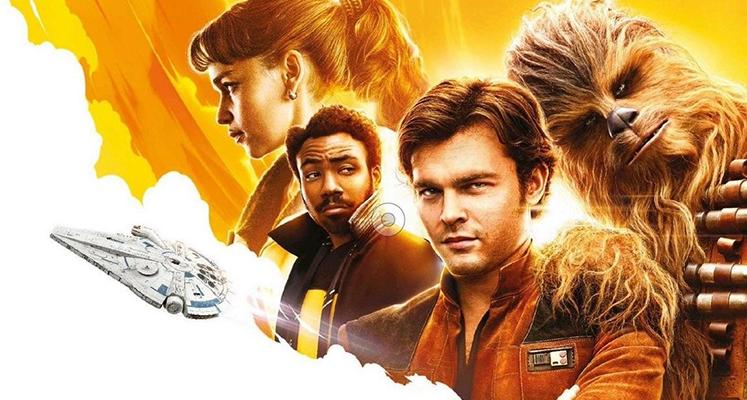 Han Solo i Chewie na nowej okładce Empire
