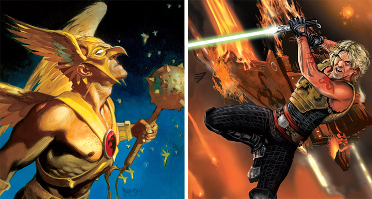 """Komiksowa środa: """"Hawkman"""" na zakończenie WKKDC,  """"Dziedzictwo VI"""" i inne"""