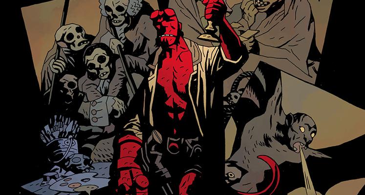 Hellboy: Nasienie zniszczenia / Obudzić diabła - prezentacja komiksu