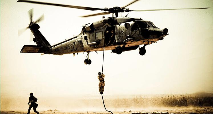 Helikopter w ogniu trafi na 4K UHD!
