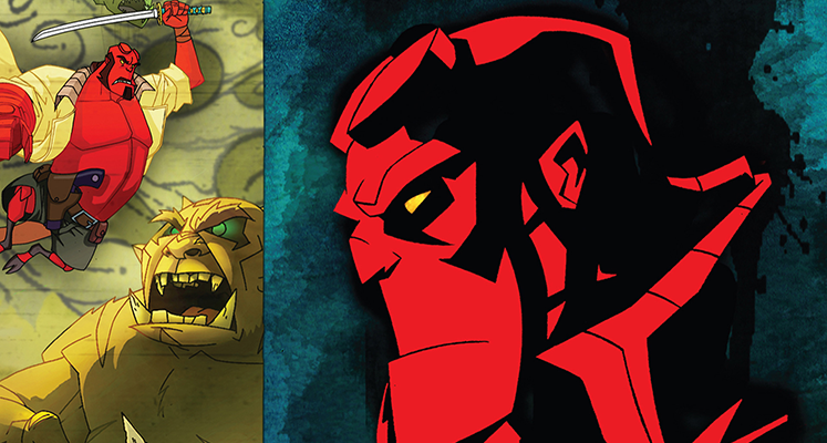 Animowany Hellboy w kwietniu na 4K UHD - znamy szczegóły