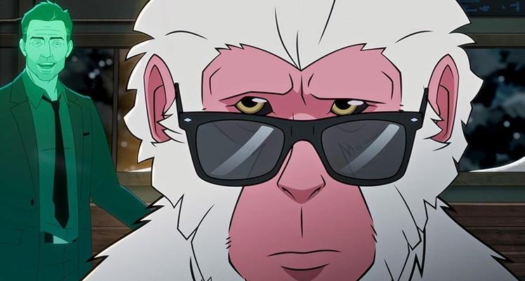 """Jason Sudeikis w pierwszym zwiastunie animacji """"Hit-Monkey"""" od Marvela"""