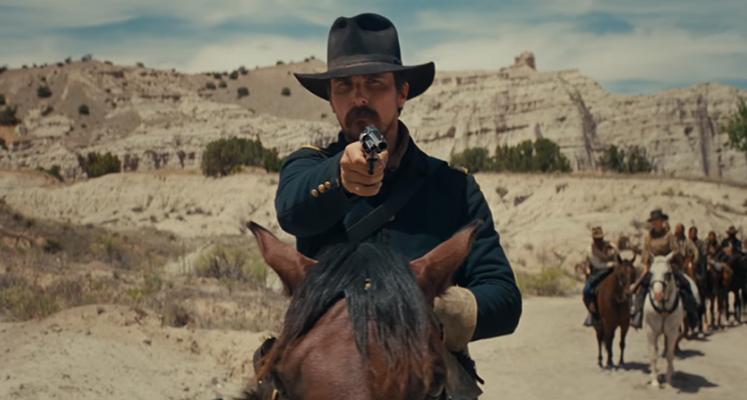 Hostiles - nowy zwiastun westernu z Christianem Balem