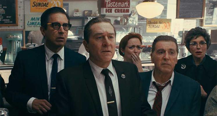 """Irlandczyk"" – Robert De Niro, Al Pacino i Joe Pesci na plakacie filmu"