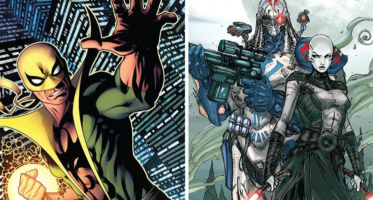 Komiksowa środa: Iron Fist i Wojny klonów 1