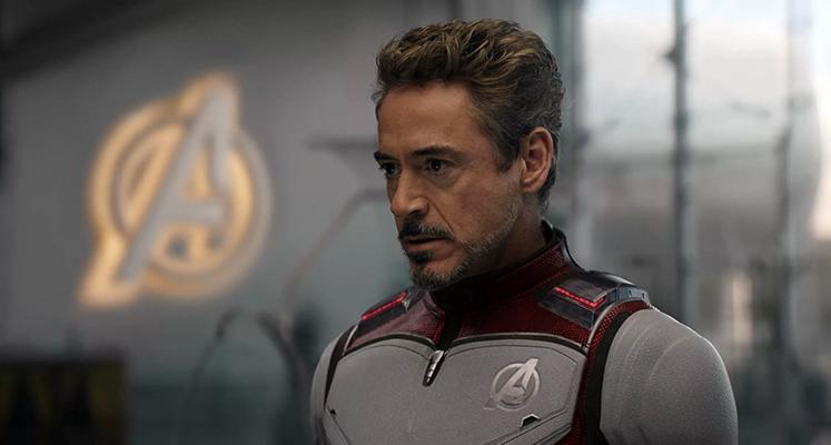 """Robert Downey Jr. ćwiczy swoje kwestie na planie """"Avengers: Koniec gry"""""""