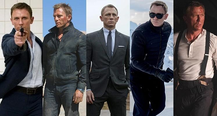 """Od """"Casino Royale"""" do """"Nie czas umierać"""". Ranking """"Bondów"""" z Danielem Craigiem"""
