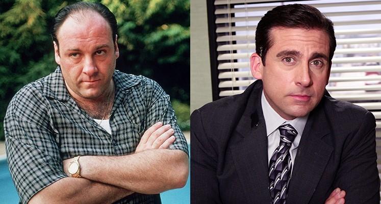 """James Gandolfini z """"Rodziny Soprano"""" miał zastąpić Steve'a Carella w """"Biurze"""""""
