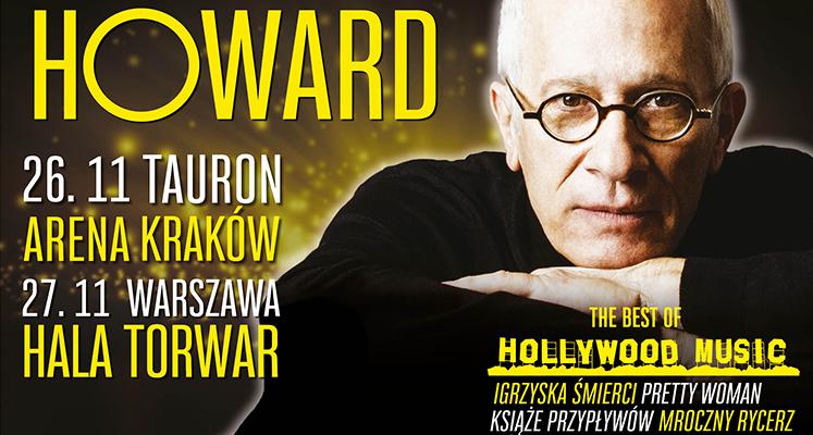 Koncerty Jamesa Newtona Howarda w Krakowie i Warszawie