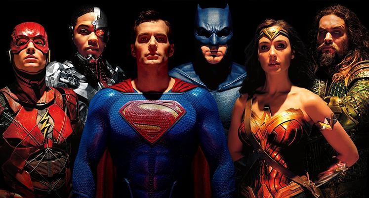 Liga Sprawiedliwości - bohaterowie na nowych plakatach