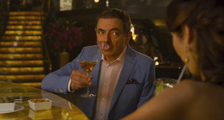 Rowan Atkinson i Olga Kurylenko w nowych spotach filmu Johnny English: Nokaut
