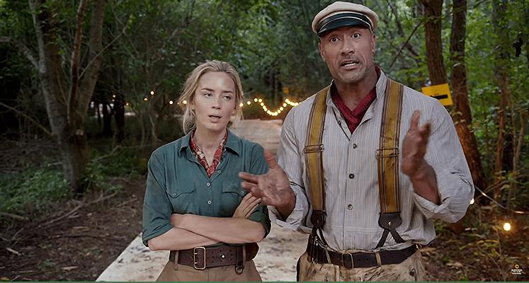 Zdjęcia do Jungle Cruise zakończone - zobacz wideo od Dwayne'a Johnsona i Emily Blunt