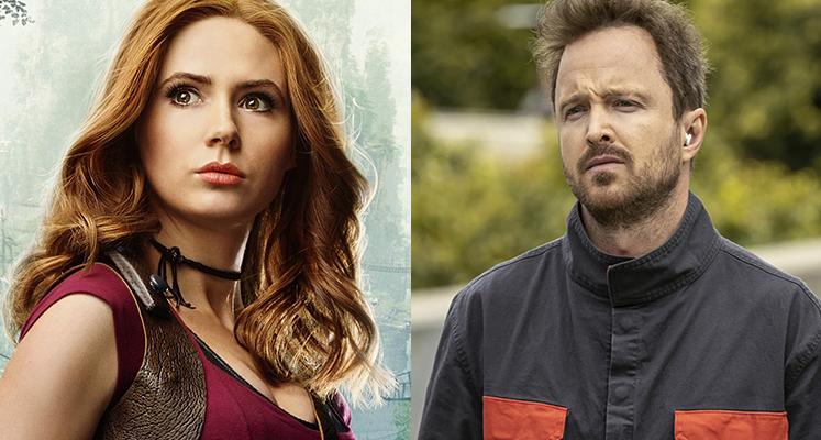 "Karen Gillan i Aaron Paul zagrają w thrillerze ""Dual"""