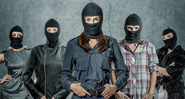 Kobiety mafii - oficjalne plakaty nowego filmu Patryka Vegi