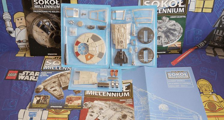 Sokół Millennium - prezentacja pierwszych trzech numerów i omówienie kolekcji