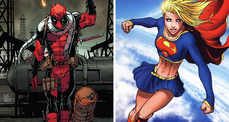 Komiksowa środa: Deadpool i Supergirl