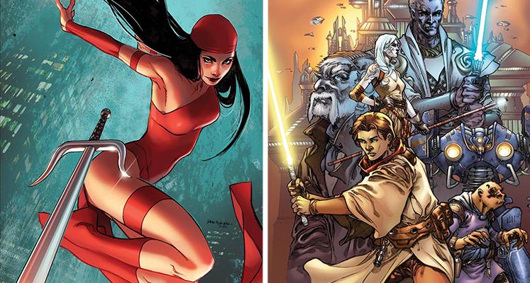 Komiksowa środa: Elektra i Rycerze Starej Republiki