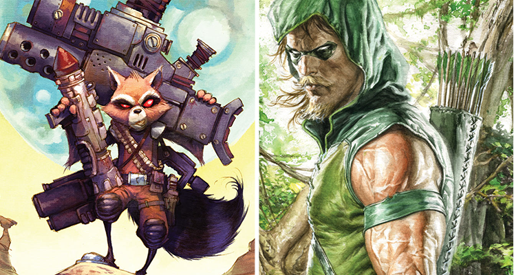 Komiksowa środa: Green Arrow i Rocket