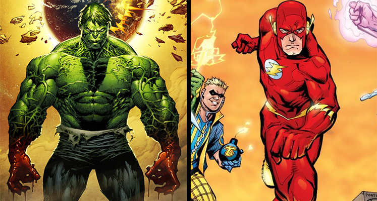 Komiksowa środa: Flash, Hulk i Conan