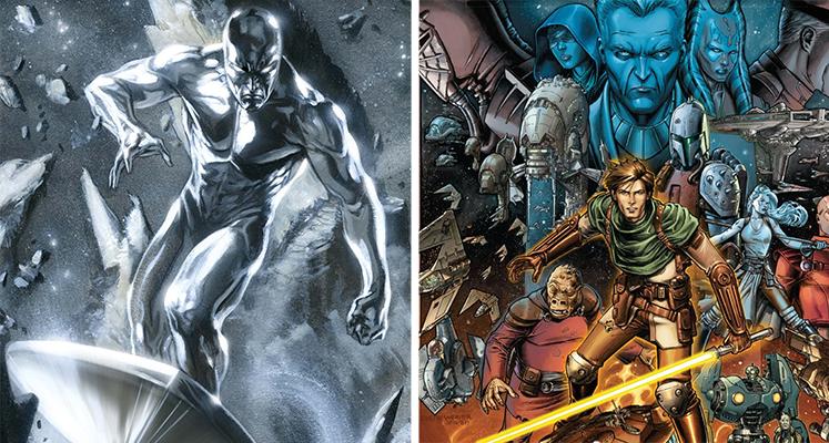 Komiksowa środa: Silver Surfer i Rycerze Starej Republiki
