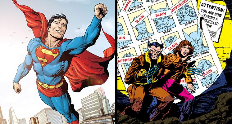 Komiksowa środa: Superman i X-Men