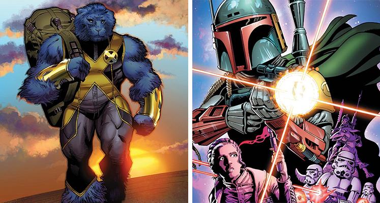 Komiksowa środa: Beast i Star Wars