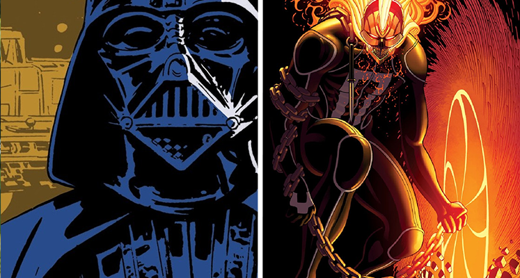Komiksowa środa: Ghost Rider i Star Wars