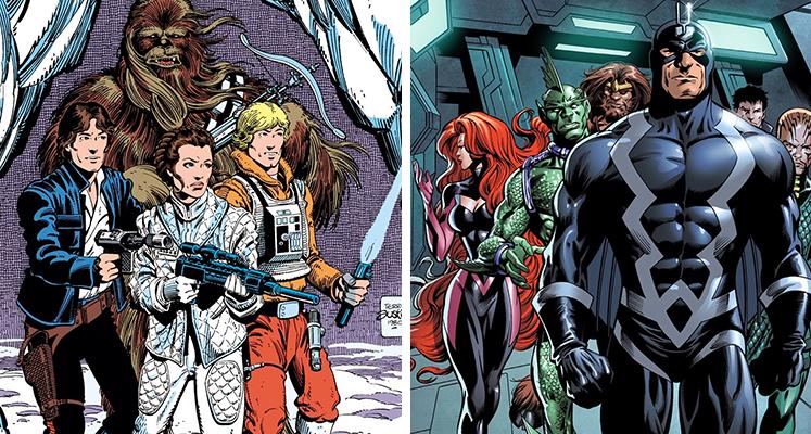 Komiksowa środa: Inhumans i Star Wars