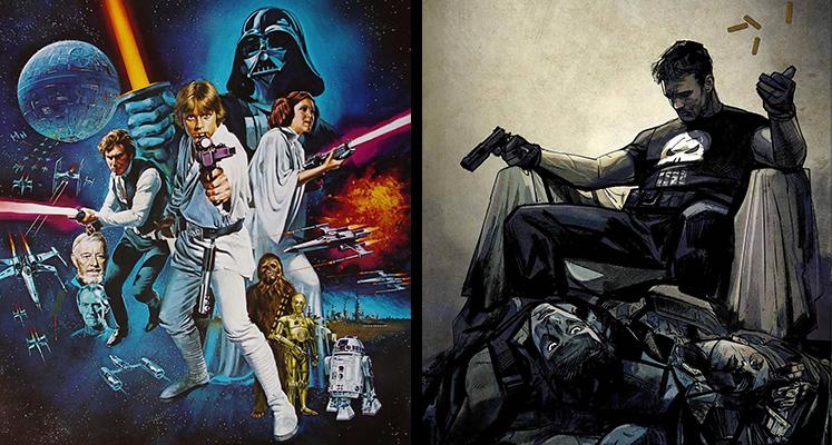 Komiksowa środa: Star Wars i Punisher (aktualizacja)