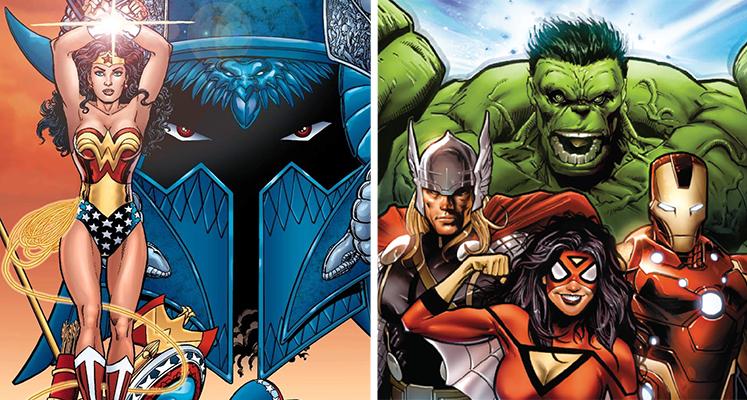 Komiksowa środa: Wonder Woman i Avengers