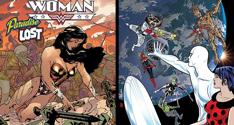 Komiksowa środa: Wonder Woman i Silver Surfer (aktualizacja)