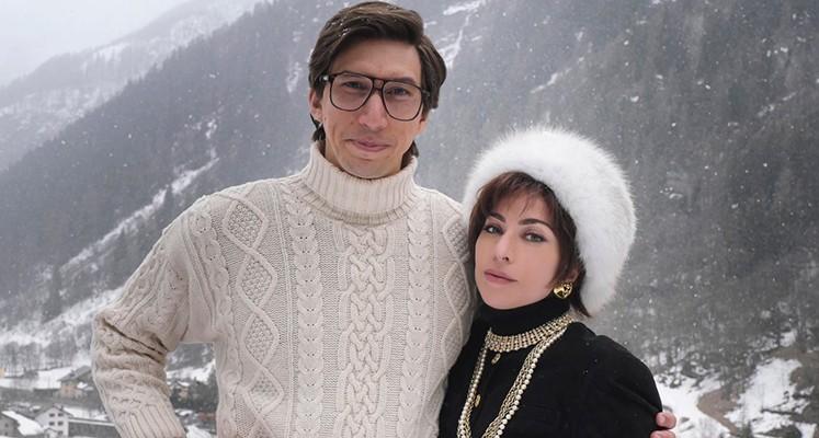 Lady Gaga i Adam Driver na zdjęciach z planu filmu o zabójstwie Maurizio Gucciego.