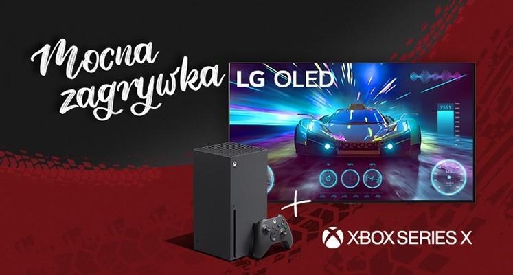 Konsola Xbox Series X w prezencie przy zakupie telewizora LG OLED GX