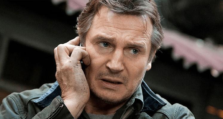 """Liam Neeson na pierwszym zdjęciu z filmu """"The Ice Road"""""""